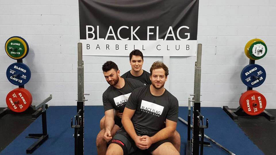 Black Flag Barbell Club